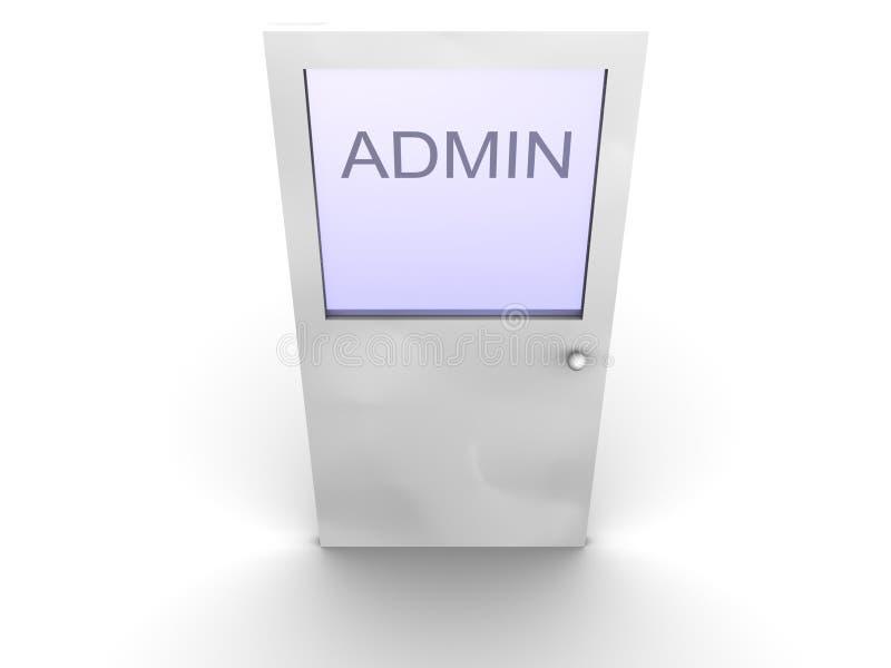 admin-dörr till