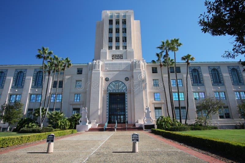 administraci budynku miasta okręg administracyjny Diego San zdjęcia stock