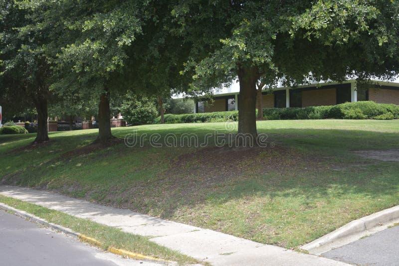 Administracja budynku HBCU szkoły wyższej kampus obraz stock
