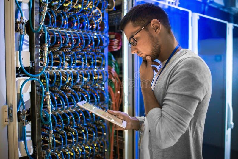 Administrador de sistemas imagem de stock