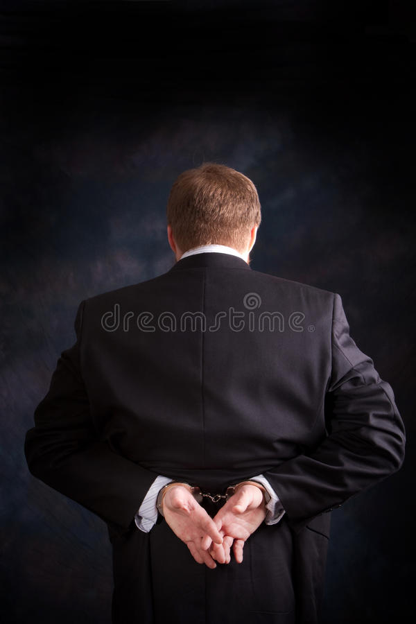 Administratieve Misdaad royalty-vrije stock foto's