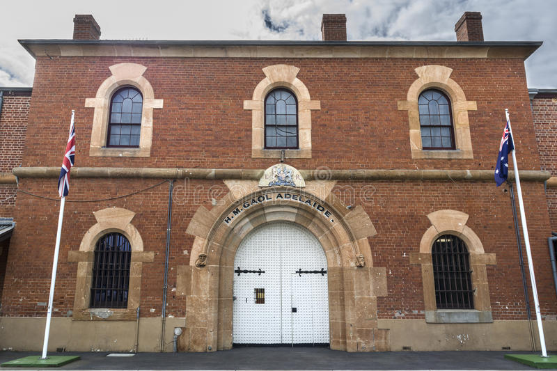 Administration Building, Adelaide Gaol, Adelaide, South Australi royalty free stock image