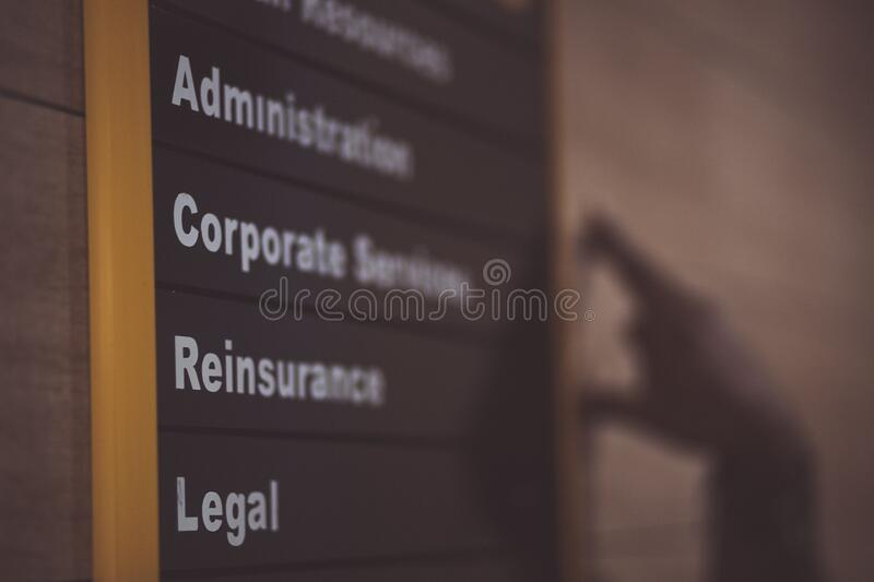 Administration Corporate Services Reinsurance Legal Labeled Board Free Public Domain Cc0 Image