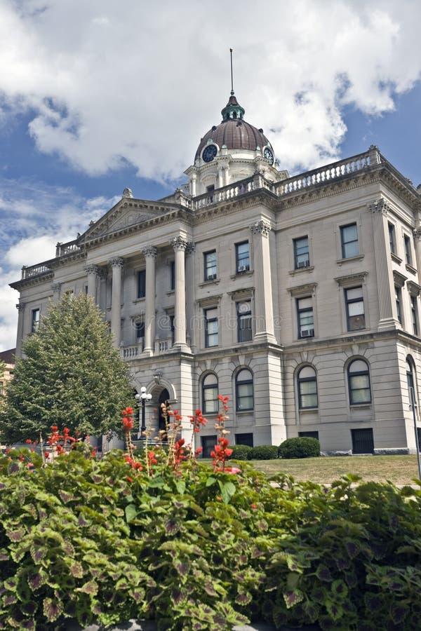 administrationsbloomington byggnad arkivbilder