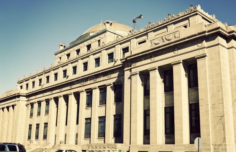 administrationsbyggnad gary indiana royaltyfri fotografi
