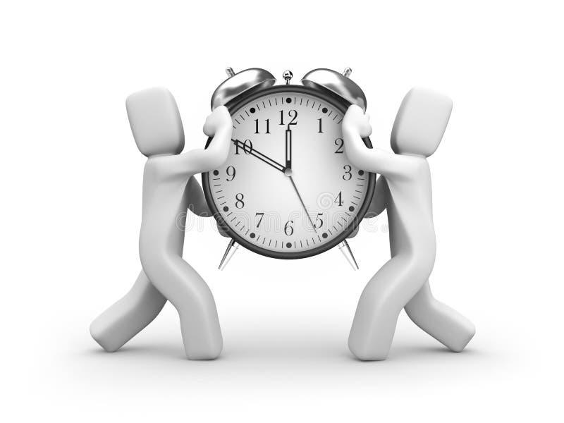administrationstid vektor illustrationer