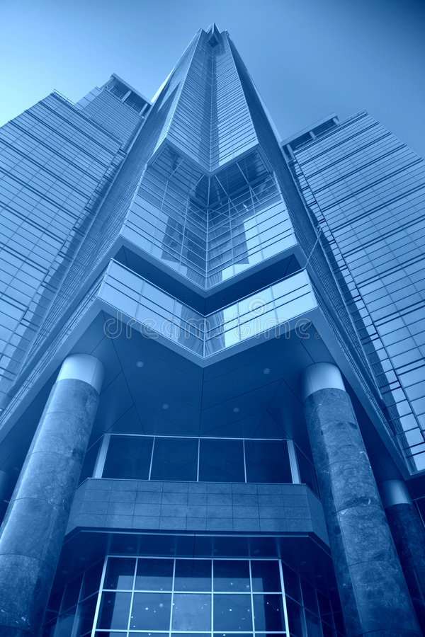 Download Administrative building stock image. Image of blue, cityscape - 7093303