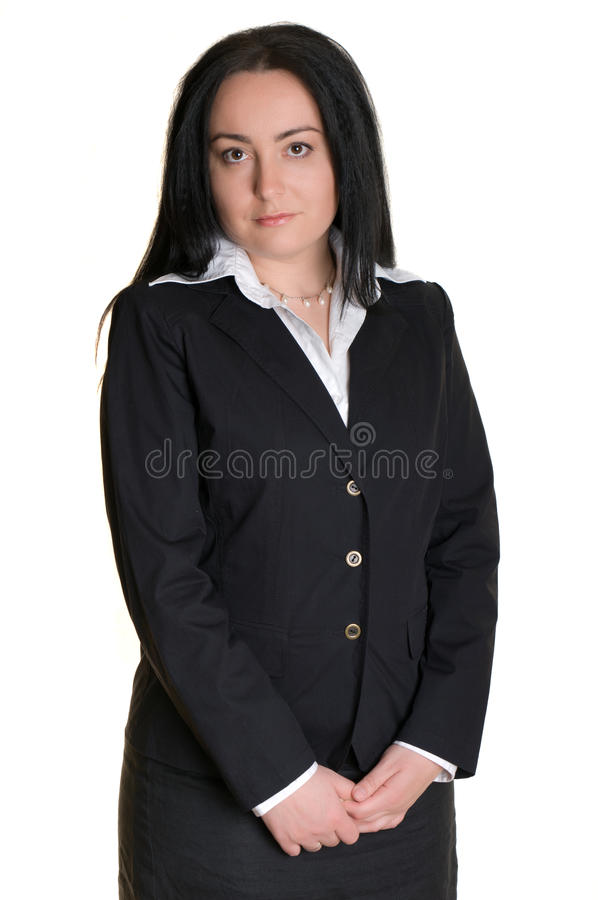 administratora portreta kobieta zdjęcie stock