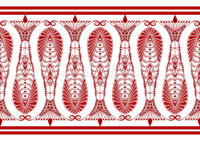 Download Admirable Claret Pattern stock vector. Image of background - 16989762