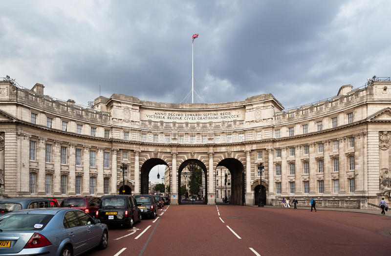 Admiralty Arch London England Editorial Stock Photo