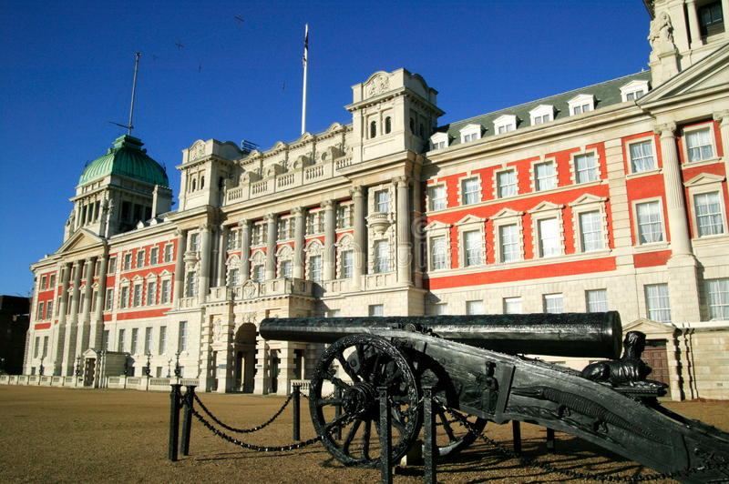 Admiralty building in Whitehall on Horse Guards  P