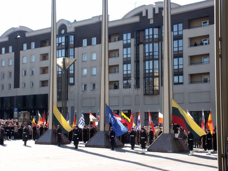 Admisión en la OTAN foto de archivo libre de regalías