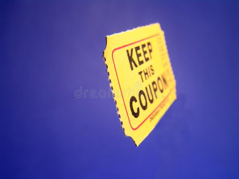 admission coupon στοκ εικόνες με δικαίωμα ελεύθερης χρήσης