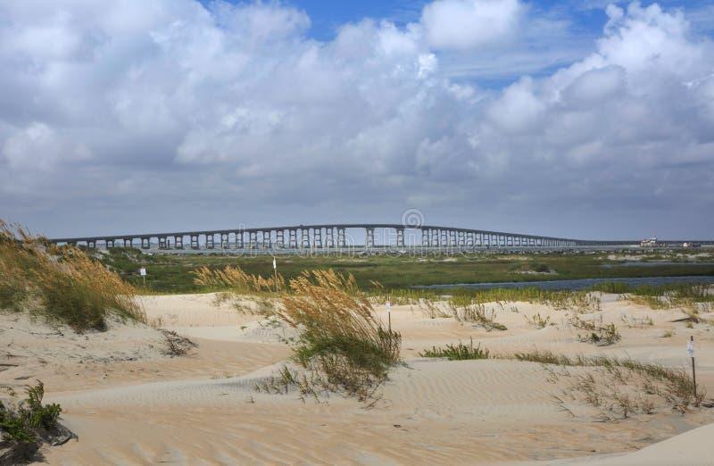 Admission la Caroline du Nord de l'Orégon de pont de Bonner image libre de droits