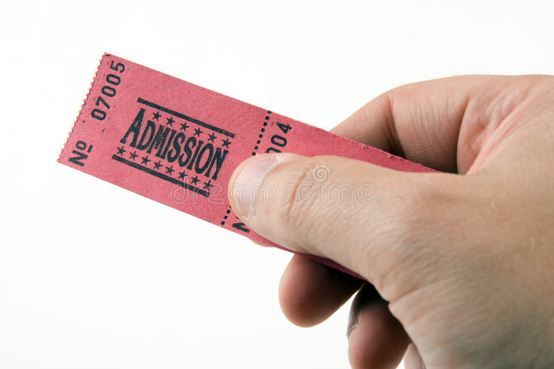 Download Admission Ticket stock photo. Image of allow, agree, present - 3219554