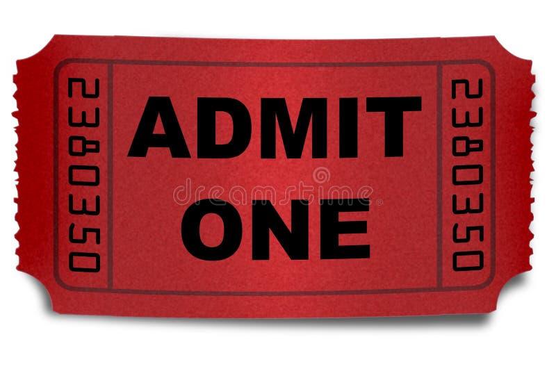 Download Admission ticket stock illustration. Illustration of admit - 4293623