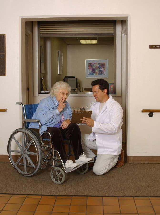 Free Admitting Senior To Facility Stock Photo - 968920
