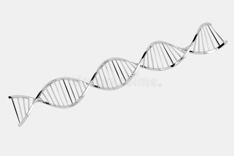 ADN 2 ilustração stock
