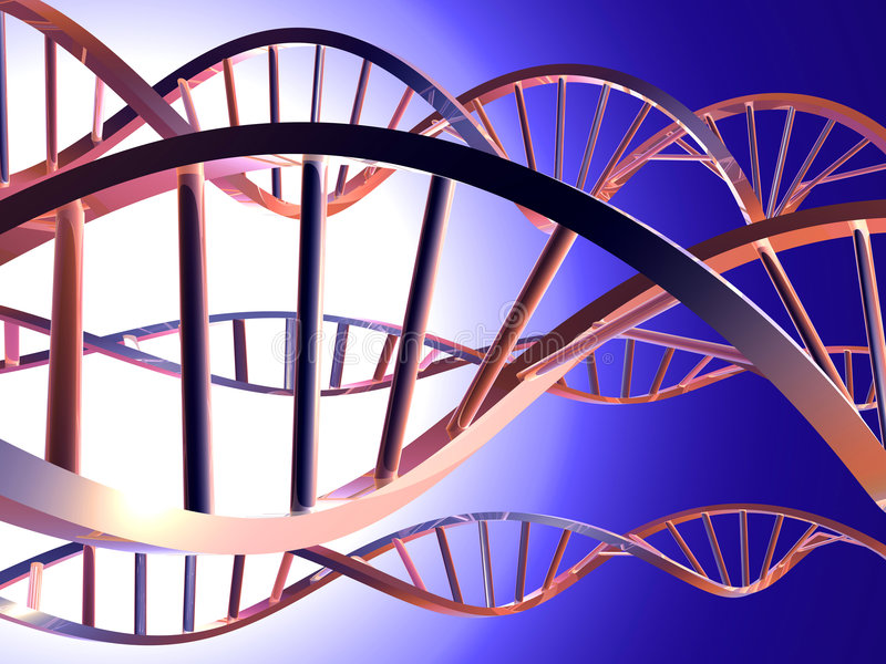 ADN 2 illustration de vecteur