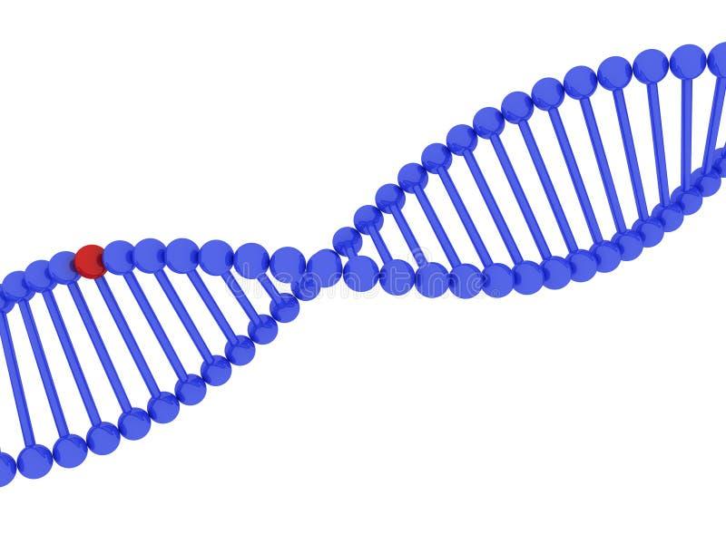 ADN 3d illustration libre de droits