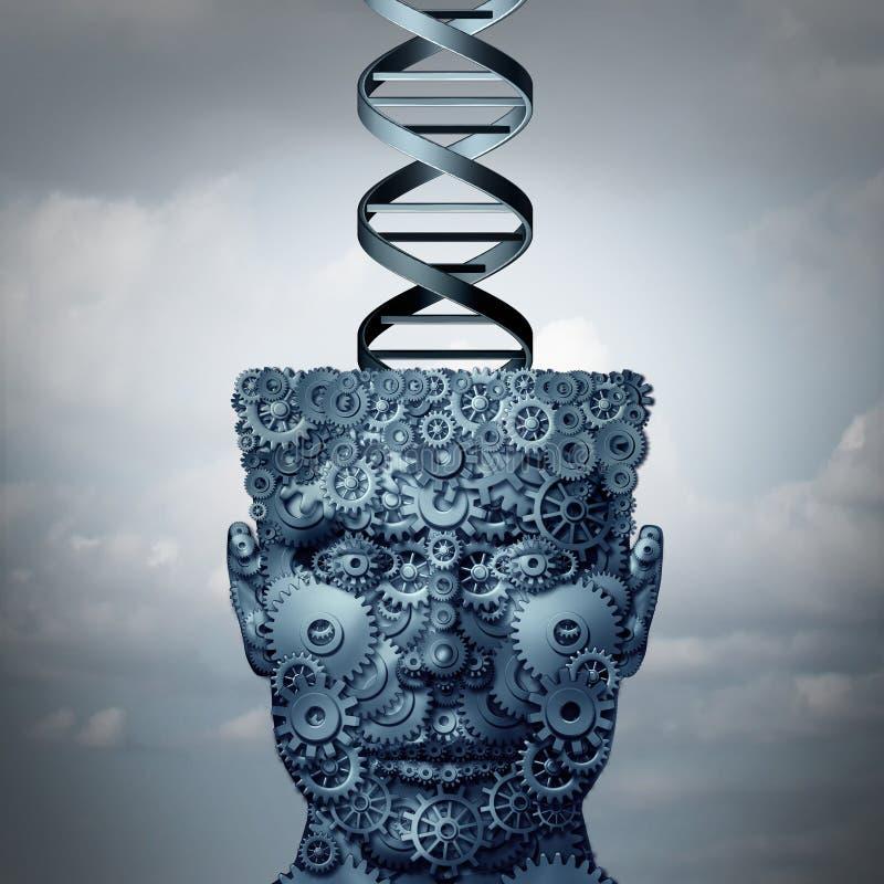 ADN de machine illustration stock