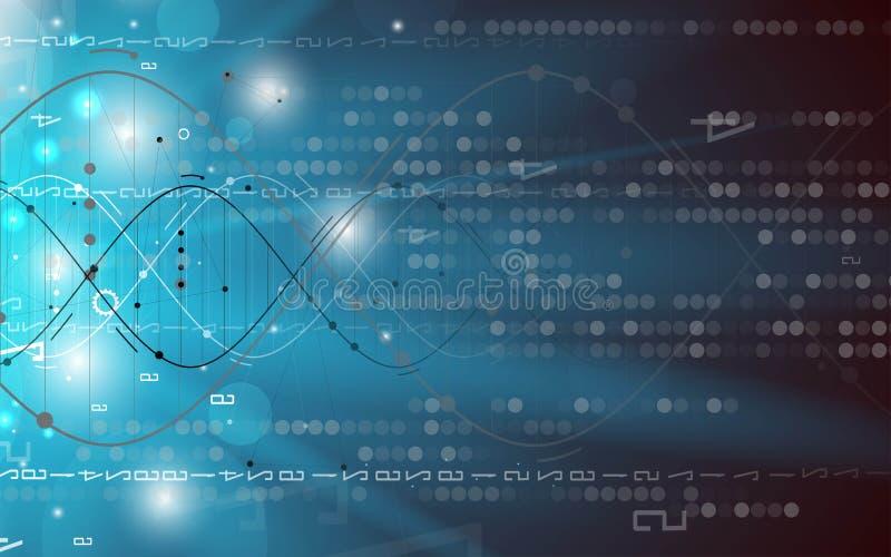 Download ADN Et Fond Médical Et De Technologie Molécule Futuriste S Illustration de Vecteur - Illustration du biologie, fractale: 76082973
