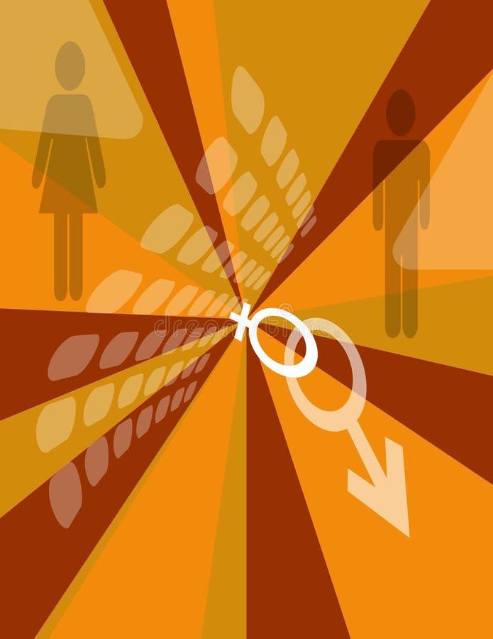 ADN humaine illustration libre de droits