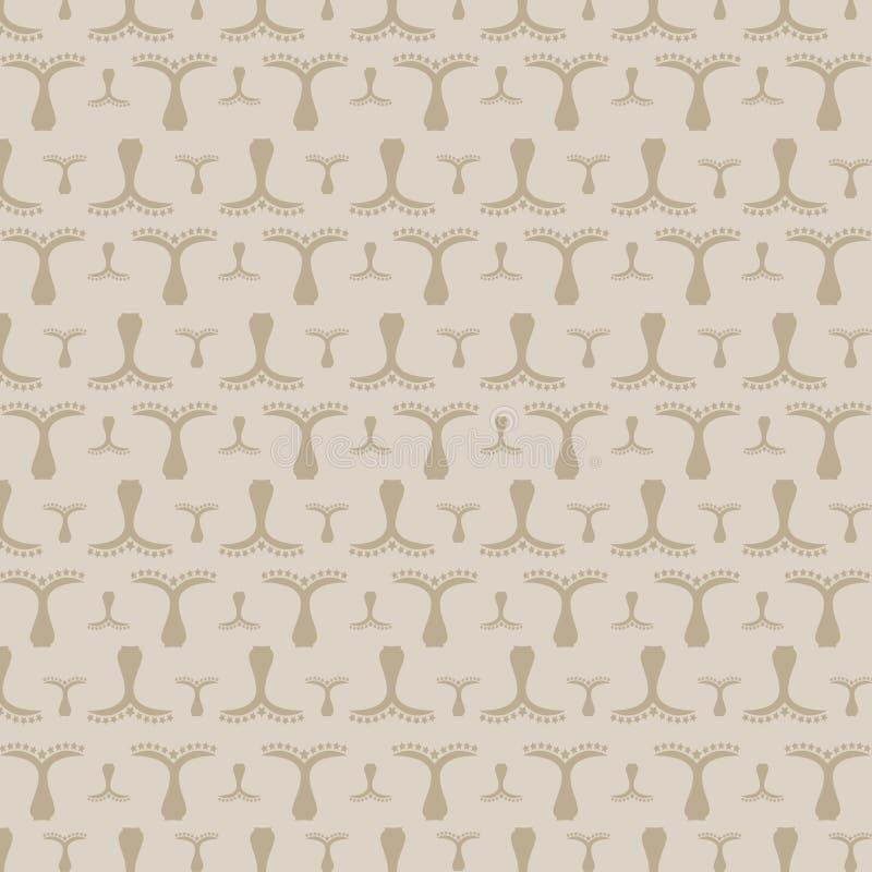 Download ładnego Ornamentu Retro Rocznika Tapeta Ilustracji - Ilustracja złożonej z kwiat, abstrakt: 53776796