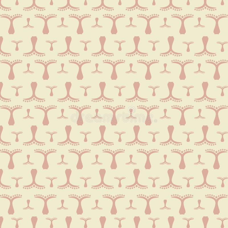 Download ładnego Ornamentu Retro Rocznika Tapeta Ilustracji - Ilustracja złożonej z stary, element: 53776900