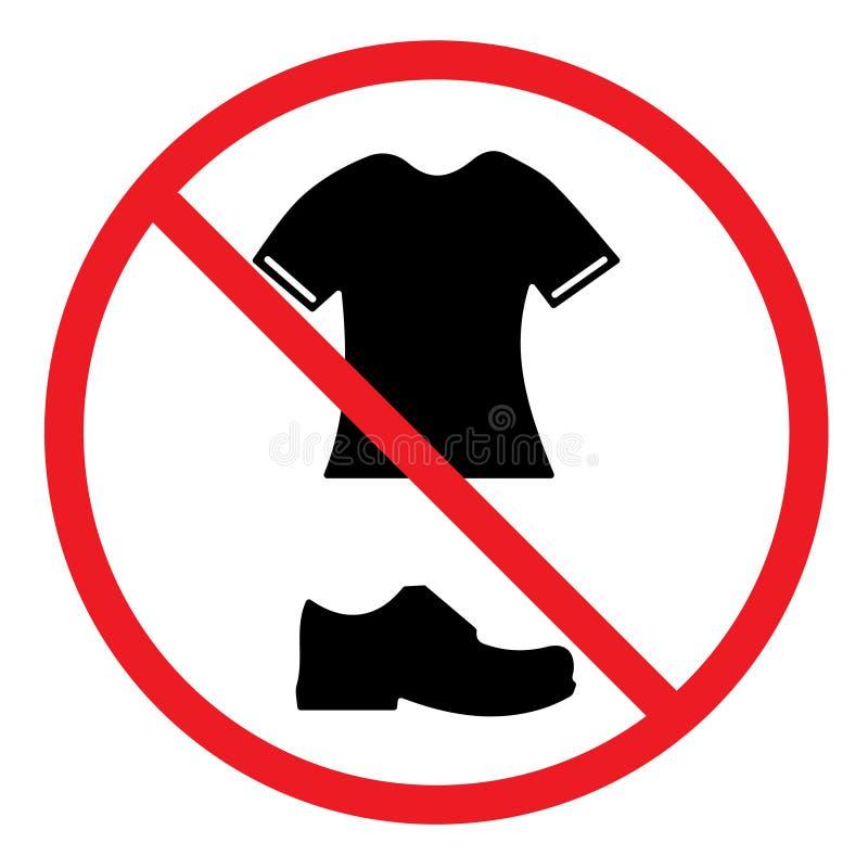 Download Żadny Buty I Koszulki Pozwolili W Basenie Ilustracja Wektor - Ilustracja złożonej z okrąg, czerń: 106906234