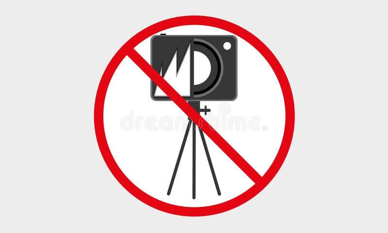 ?adny kamery ikona ?adny fotografia logo, ?adny Statywowy kamera symbol ilustracji