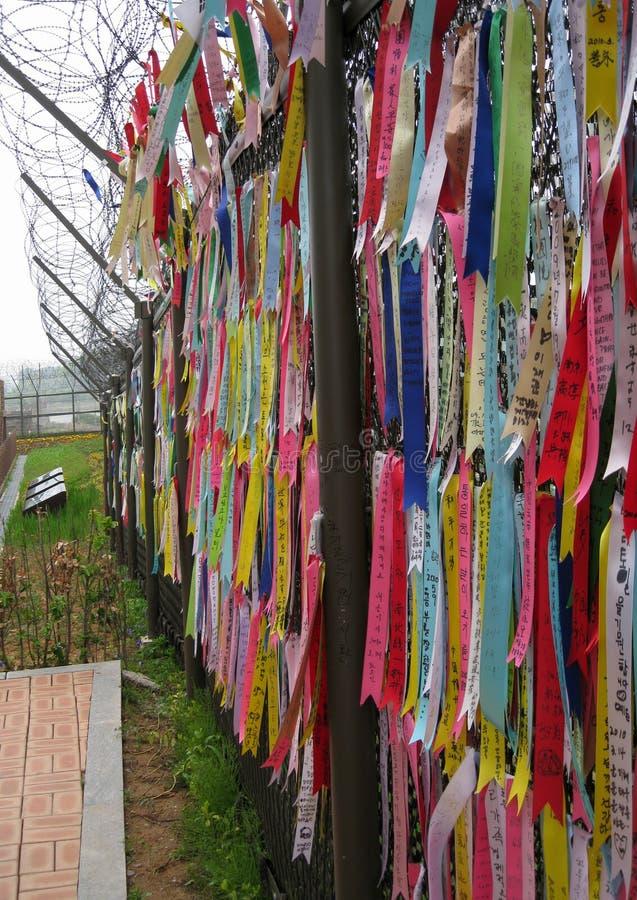 Żadny obsługuje ziemia brakujących krewnych w Południowym Korea obraz stock