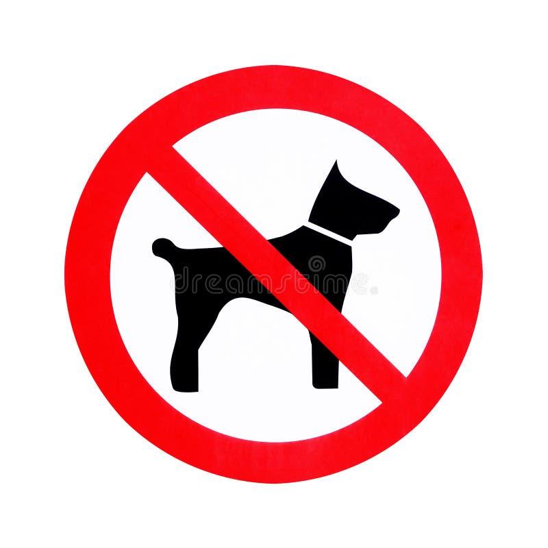 Żadny psy pozwolić ilustracja wektor