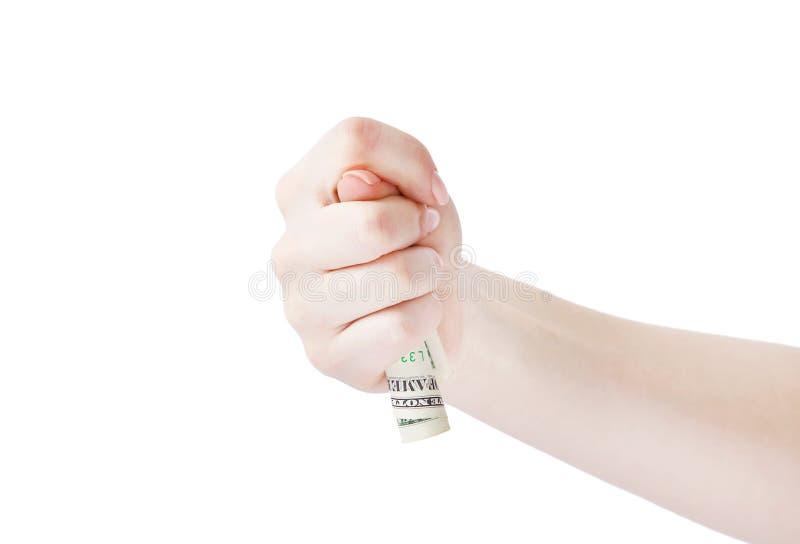 ŻADNY WIĘCEJ pieniądze zdjęcie stock