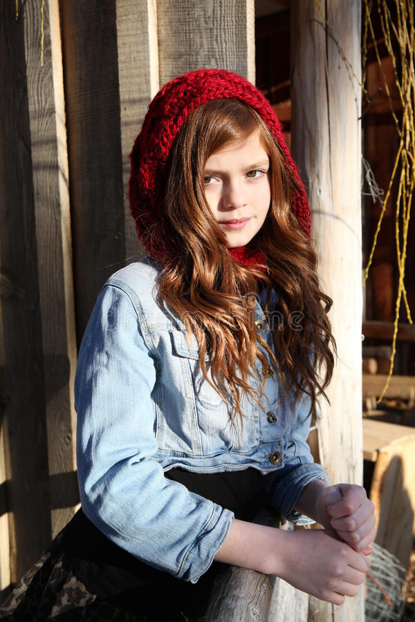 Ado d'hiver photographie stock