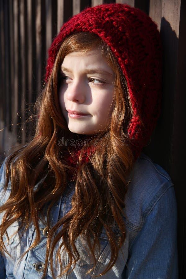Ado d'hiver photographie stock libre de droits