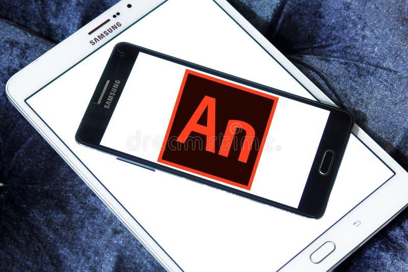 Adobe赋予生命的软件商标 库存图片