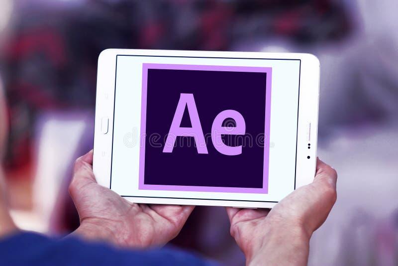 Adobe après logo d'effets photos stock