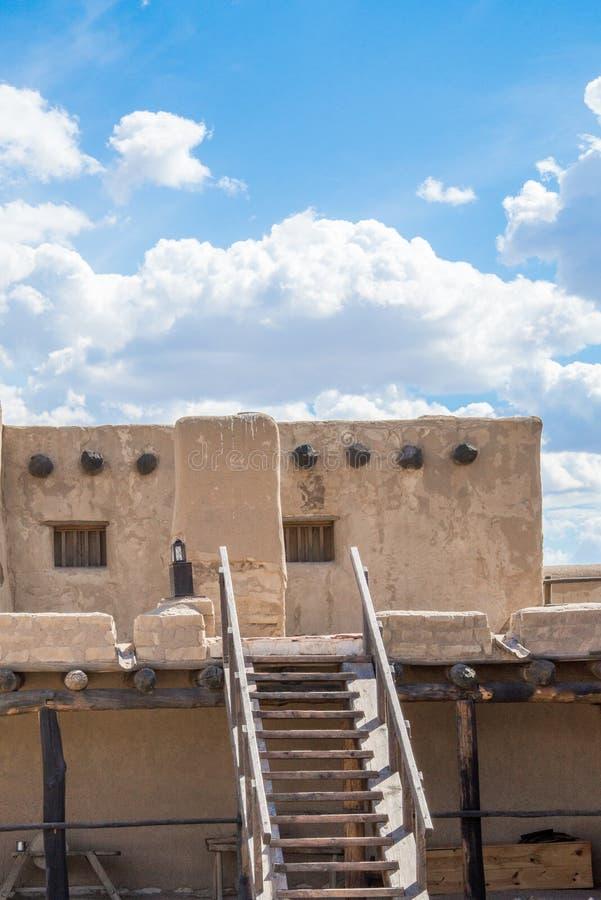 Adobe - Bent& velho histórico x27; forte Colorado de s fotografia de stock