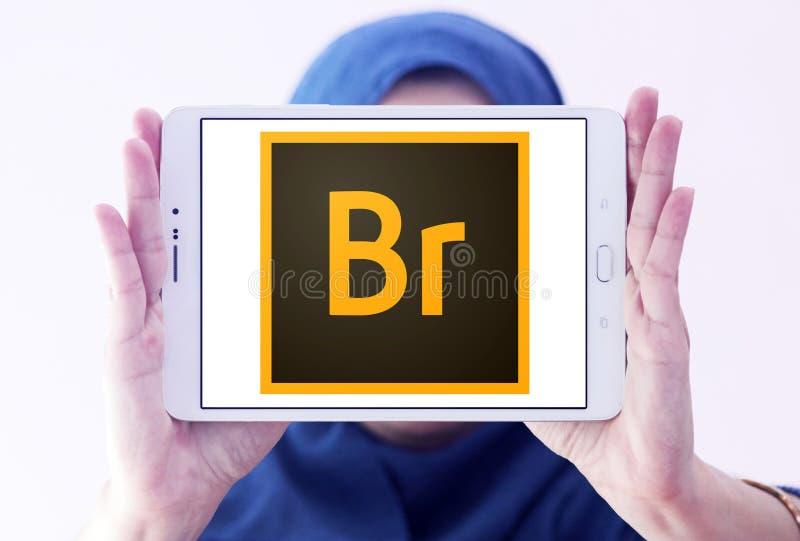 Adobe-Brückenlogo stockbild