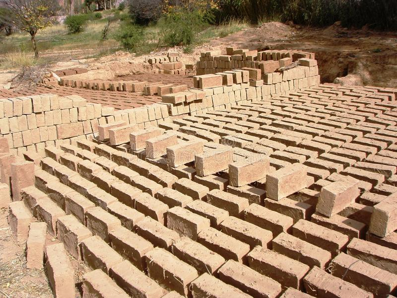 Adobe bricks sustainable building materials 3 stock for Sustainable building resources