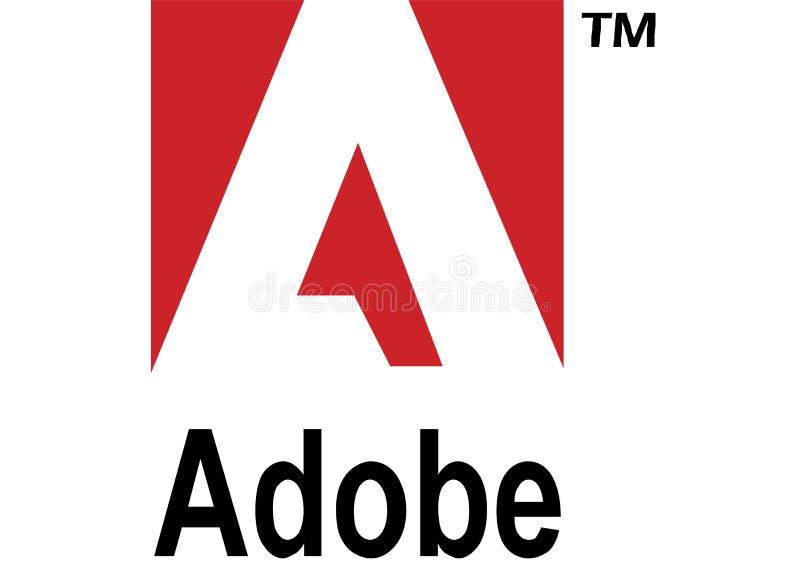 Adobe-embleem vector illustratie