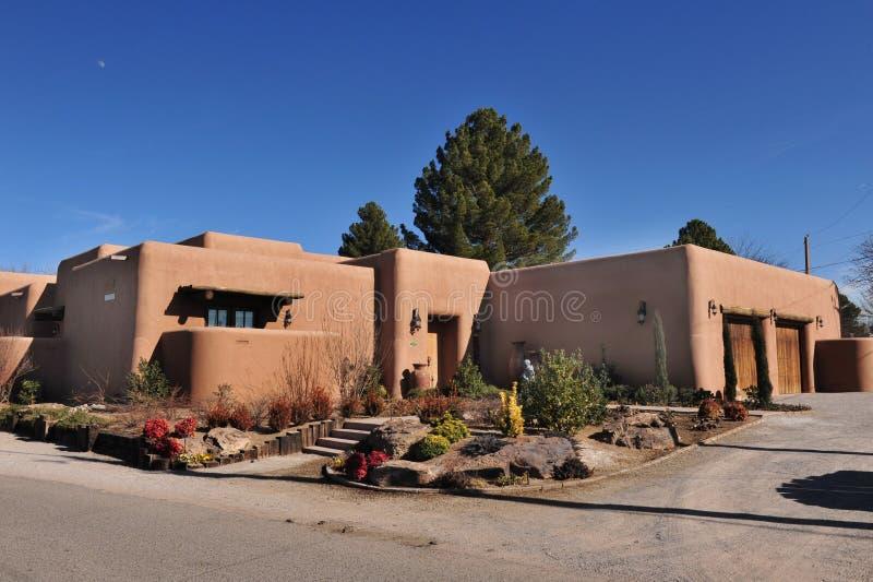 Adobe Home. In Las Cruses,New Mexico stock photos