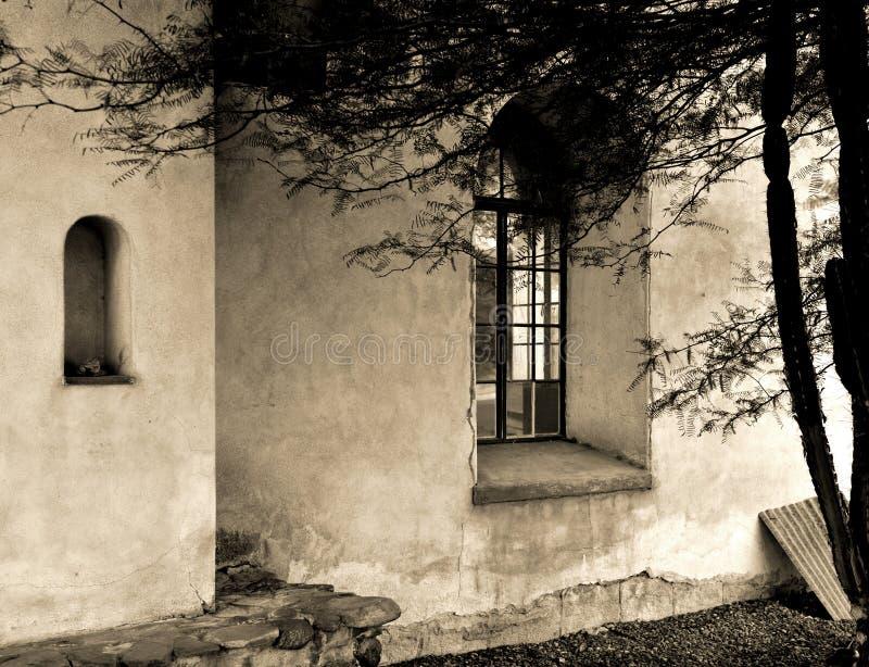 Adobe homes in Arizona royalty free stock photo