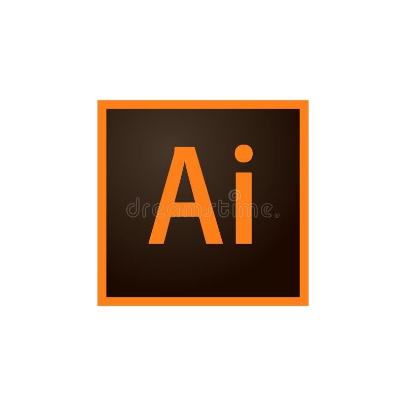 Adobe-Illustrator Redactievector vector illustratie