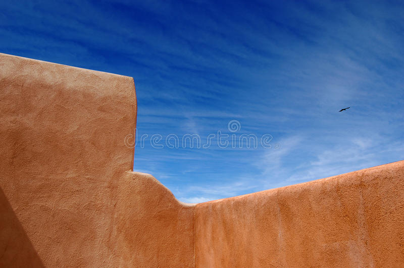 Adobe Vista royalty free stock image