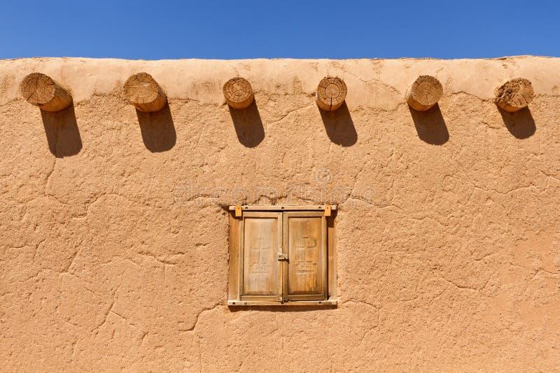 Adobe Wall stock image