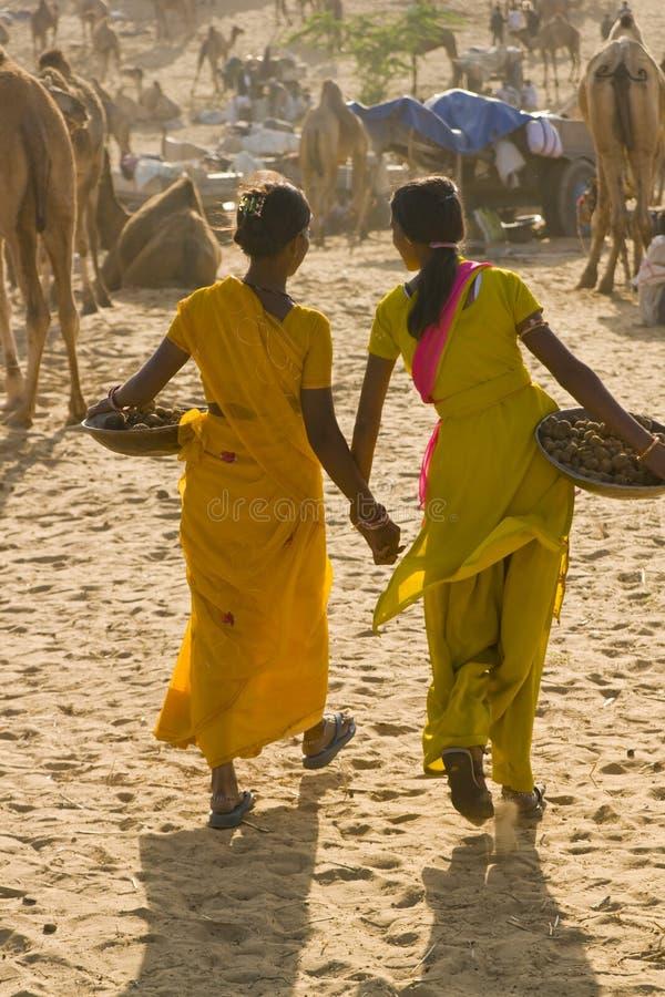 Adolescencias indias imagen de archivo libre de regalías