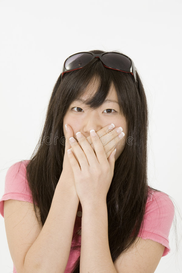 Adolescent asiatique images libres de droits