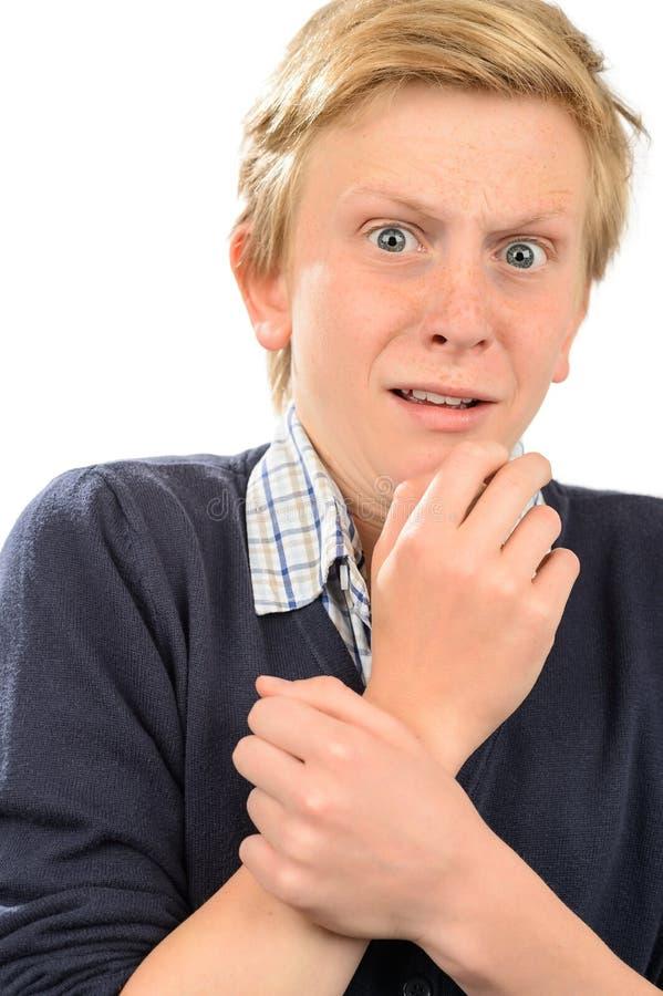 Adolescent effrayé photos stock